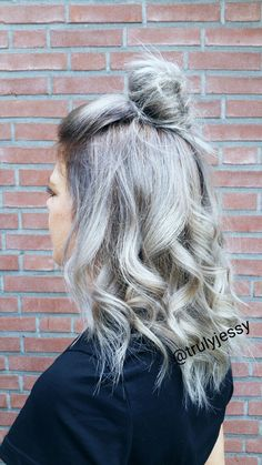 Grey hair by Jessica