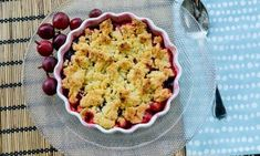 Krusbärspaj med smuldeg Kitchen Recipes, Mashed Potatoes, Cauliflower, Macaroni And Cheese, Vegetables, Glass, Ethnic Recipes, Whipped Potatoes, Mac And Cheese