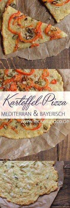 Kartoffelpizza | mediterran und deftig bayerisch