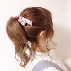 ♥ The Cutest Monthly Kawaii Subscription Box ♥ Receive cute items from Japan & Korea every month ♥ Kawaii Hairstyles, Pretty Hairstyles, Hair Inspo, Hair Inspiration, Hair Goals, Ponytail, Your Hair, Curly Hair Styles, Hair Care