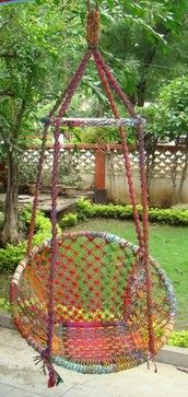 Recycled Cotton Swings - hammocks - other metro - Shilpin