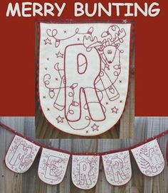 Merry Bunting by Rosalie Quinlan