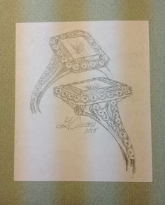 Ring sketch - need to get this framed!