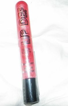 590 lip gloss seven diits lip def hard candy single full size shimmer new peach #HardCandy