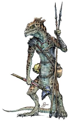 Monster Manual: Troglodyte