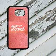 Pink Rusted Ford Emblem Design on Samsung by EastCoastDyeSub