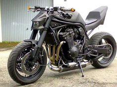 Cowboy From Hell Moto Suzuki, Suzuki Motorcycle, Moto Bike, Motorcycle Design, Bike Design, Drag Bike, Custom Street Bikes, Custom Bikes, Ducati