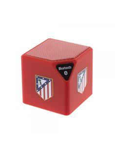 Altavoz Bluetooth Atlético de Madrid Rojo Escudo