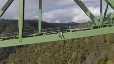 A woman is lucky to be alive after falling 60 feet while taking a selfie from a bridge in northern California. Authorities hope she learned a lesson and are not charging her for trespassing.