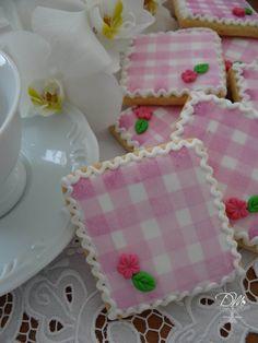 Cookies decorados - Toalhinhas/Quardanapos Decorated Cookies - Napkins