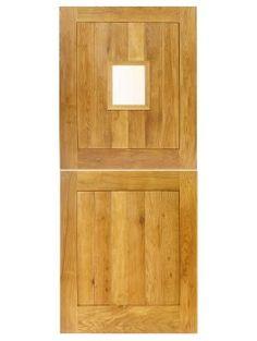solid oak external 4 panel stable door wood wooden stable