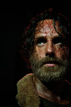 Andrew Lincoln as Rick Grimes in The Walking Dead.