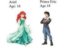Esta era la edad real de las princesas y príncipes de Disney. ¡Te sorprenderán!