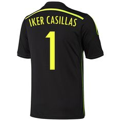 Adidas CASILLAS *1 Spain Away Jersey World Cup 2014 YOUTH. YOUTH SMALL *** You can find out more details at the web link of the image. (This is an affiliate link). #soccer Fifa Ps4, Publix Coupons, Sweater Scarf, World Cup 2014, Slogan Tee, Teacher Shirts, Fashion Brands, Spain, Youth