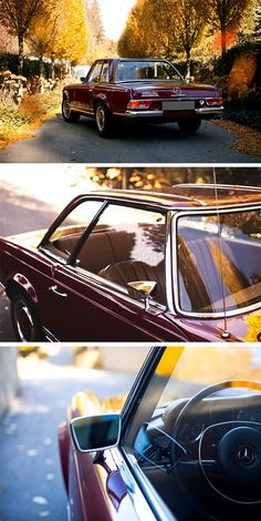 Timeless. Flawless. Priceless. The Mercedes-Benz 280 SL. Photo by Peter Mosoni (mosoni.hu/).