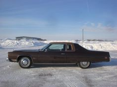 AutoTrader Classics - 1975 Chrysler Imperial Coupe Brown 8 Cylinder Automatic 2 wheel drive | American Classics | Milbank, SD  Would be a nice car to fix up.