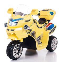 Lil' Rider FX 6 Volt 3 Wheel Powered Ride On - Yellow