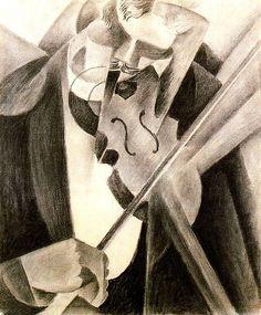 Severini, Gino (1883-1966) - 1915 The Society Violinist (Metropolitan Museum of Art, New York City) - Pinterest