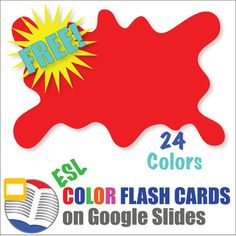 Colors are a mainstay of any kindergarten classroom!  Now, bring your classroom into the 21st Century with a 24 color flash card set on Google Slides!