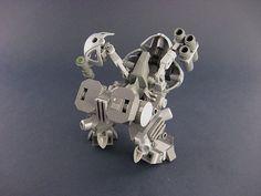 UM-5 WAR DOLL Combat Hardsuit : a LEGO® creation by Brian Kescenovitz : MOCpages.com