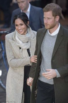 Speaking about the couple (pictured in January)Lady Anson said: 'When they got engaged an...