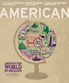 Grand Gold Winner, Magazine Publishing Improvement, American University (D.C) - American magazine