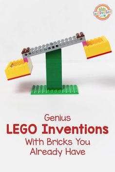 LEGO Balance Scale Stem Project -- step-by-step LEGO tutorial using bricks you already have. If your kid is LEGO obsessed, you need this book. It's not only a great guide to building super cool things, it has a cool LEGO Balance Scale STEM Project. Lego Club, Stem Projects, Projects For Kids, Pbs Kids, Robot Lego, Lego Lego, Lego Batman, Lego Minecraft, Lego Games