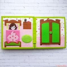 . Развивающая книжка Кукольный домик