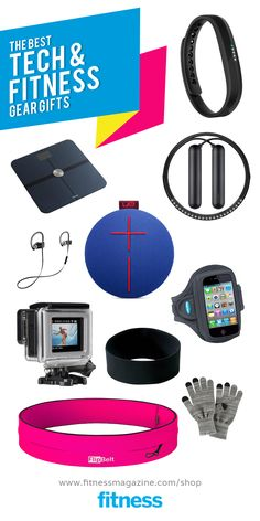 Give the gift of gear this year with gadget gifts to help your fit friend stay in shape.