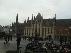 Markt Bruges Belgium