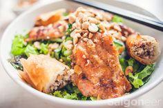 Hem Gems: Bun Thit Nuong Ba Tam @ 299 Vo Van Tan - Saigoneer #vietnamfood #xotours #foodie