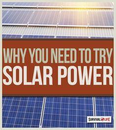 Solar Power: Energy Alternative | Survival Life | Blog