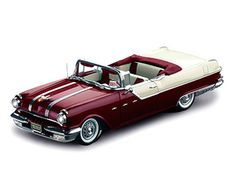 1955 Pontiac Star Chief Convertible Persian Maroon/White Mist Diecast Model in Scale Sun Star Platinum Collection of Diecast Collectible Cars. Model Cars Kits, Kit Cars, Convertible, Pontiac Star Chief, Plastic Model Cars, Diecast Model Cars, Shoe Box, Cool Toys, Scale Models