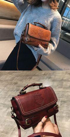 e241203da24 Retro Badge British Style Double Buckle Handbag Shoulder Bag #bag #shoulder  #retro Britse