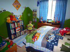 Vroom Vroom Transportation Room – Cute little boy bedroom ideas – toddlerrom Boy Toddler Bedroom, Toddler Rooms, Kids Bedroom, Boys Bedroom Themes, Big Boy Bedrooms, Bedroom Ideas, Transportation Room, Truck Room, Man Room