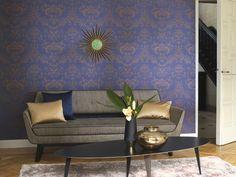 Empire papierpeint Signature, Bronze, Couch, Wallpaper, Collection, Furniture, Empire, Home Decor, Stickers