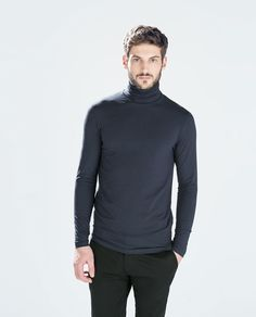 ZARA - MAN - TURTLENECK T-SHIRT