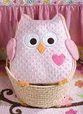 Owl Textured Pillow