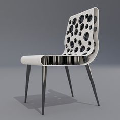 Bubble Point Chair by Svilen Gamolov — Chair Blog