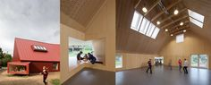 Centro Comunitario Juvenil en Roskilde / Youth Centre in Roskilde - Archkids. Arquitectura para niños. Architecture for kids. Architecture for children.