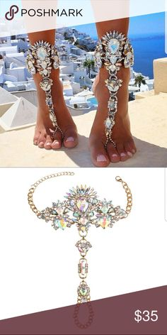 Pair Of Summer Bling Anklets Fashion,?simple,?stylish,?and?high?quality.  ??A?very?good?gift?for?yourself?and?someone?special.  ??Suitable?for?going?wedding?party?or?banquet.  ??A?good?ornaments?for?your?daily?lift?or?some?important?occasions. Dallas Stylez  Jewelry