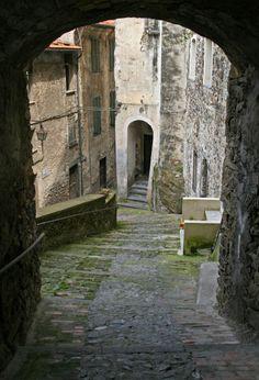 Castel Vittorio in Liguria, Italy