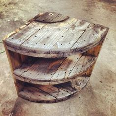 Marvelous Diy Recycled Wooden Spool Furniture Ideas For Your Home No 59