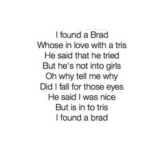 Brad & tris❤