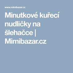 Minutkové kuřecí nudličky na šlehačce | Mimibazar.cz