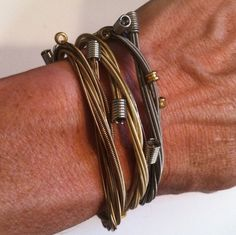 guitar string bracelets! what i really want for christmas!!