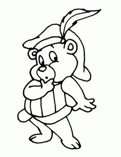gummi bears coloring pages 4