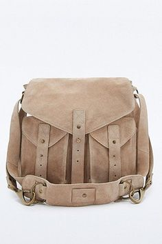 BDG Natural Suede and Leather Messenger Bag What To Pack 4a6b22b008436