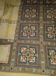 Cross Stitch Embroidery, Cross Stitch Patterns, Knitting Needles, Needlepoint, Bohemian Rug, Diy Crafts, Crossstitch, Deco, Rugs