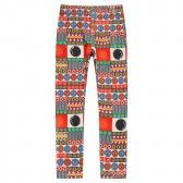 Richie House Little Girls Multi Color Geometric Patterned Stretch Pants 2-6 - SophiasStyle.com